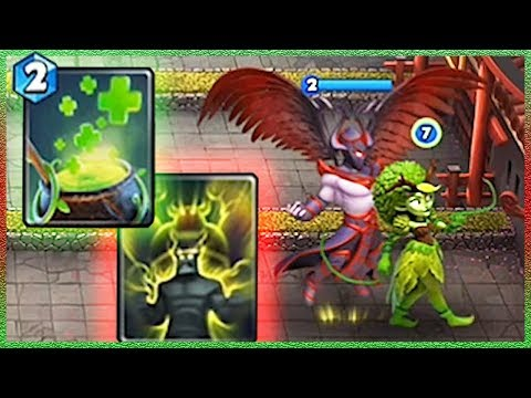Castle Crush Dryad And Dark Angel With Giant Growth!