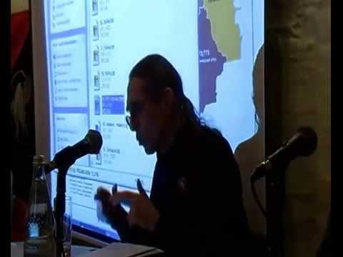 2014-11-12 Frankfurt: Vortrag von Dr. Vadim Damier im Club Voltaire zur Ukraine