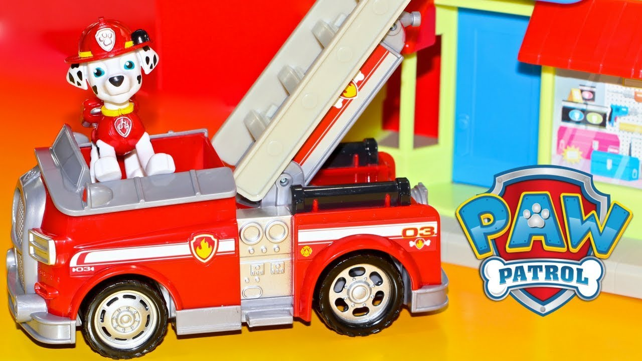 Paw Patrol Adventure Bay Town Set With Marshall Toys R Us