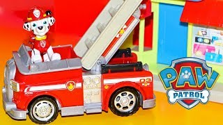 Paw Patrol Adventure Bay Town Set With Marshall, Toys R Us Exclusive