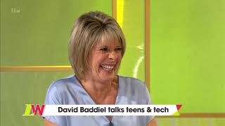 David Baddiel Talks Teens and Tech | Loose Women