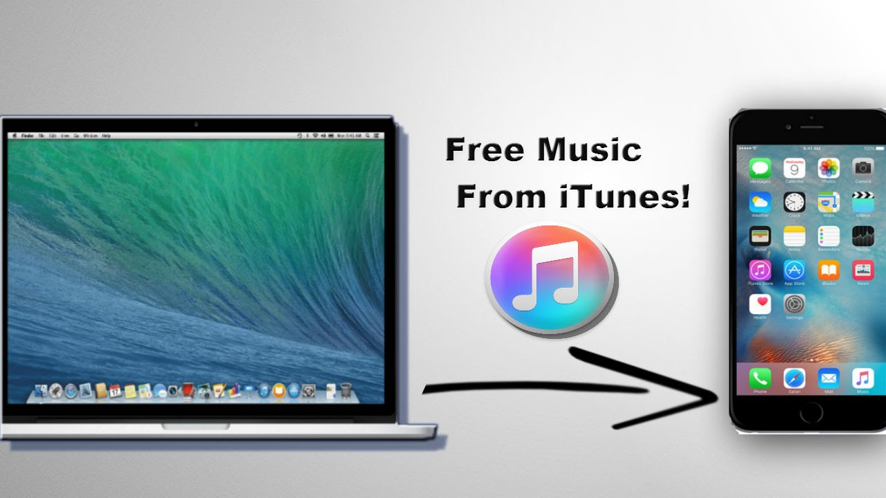 How To Download Free Music From ITunes To IPhone,iPod, And