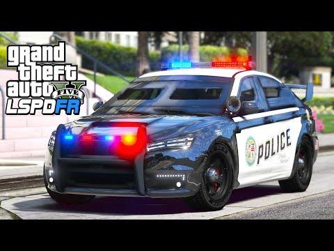 GTA 5 - LSPDFR Ep571 - Armored Kuruma Police Car!! - YouTube