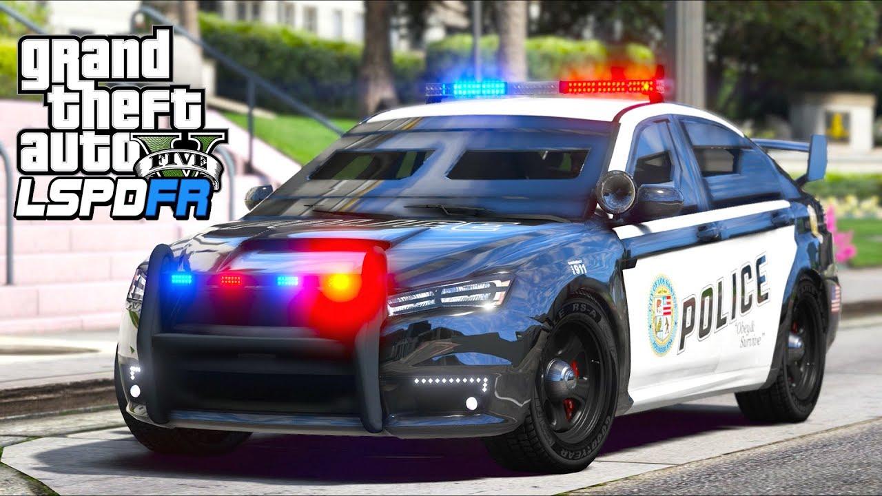 GTA 5 - LSPDFR Ep571 - Armored Kuruma Police Car!!
