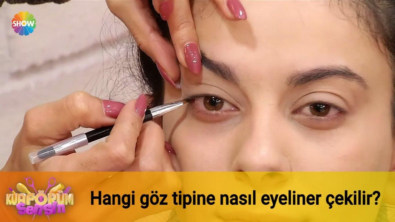 Hangi göz tipine nasıl eyeliner çekilir?