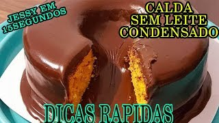 Aprenda Fazer Calda de Chocolate sem Leite Condensado