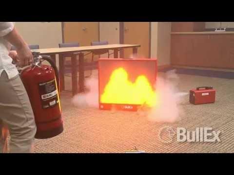 Bullex Fire Extinguisher Training | Douglas County Fire