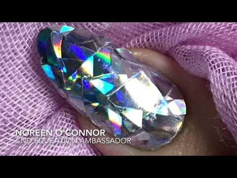 Diamond Nails Nail Art Trend 2017 Using CND Shellac