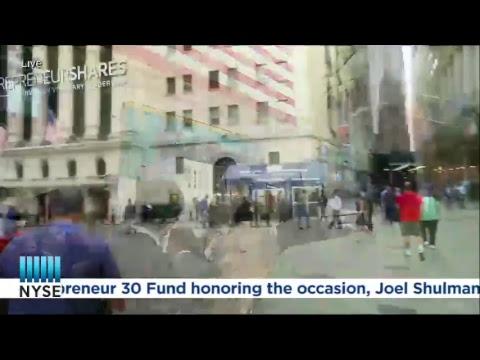 EntrepreneurShares LLC Rings The NYSE Closing Bell