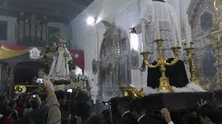 2018-08-10 Entrada Virgen de la Merced, Capuchinas, 800 años Orden Mercedaria