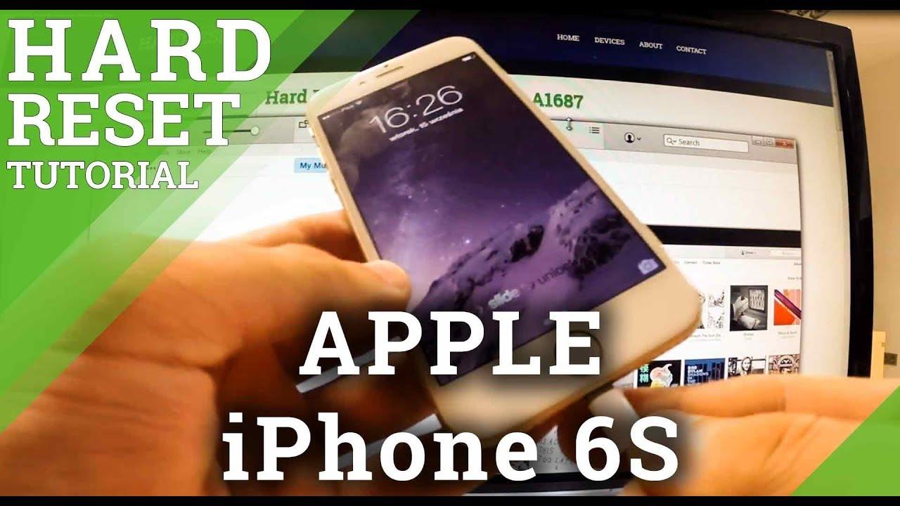Hard Reset APPLE iPod Touch (5th generation) - HardReset info