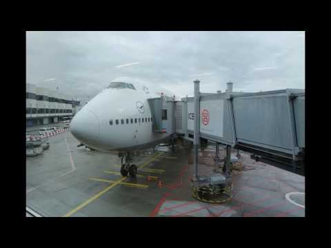Lufthansa Boeing 747-400 | Frankfurt to Toronto *Full Flight*