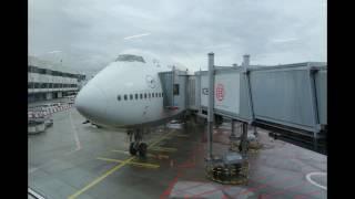 Lufthansa Boeing 747-400 | Frankfurt to Toronto *Full Flight*