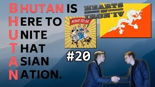 HoI4 - Road to 56 mod - Bhutan Is Here To Unite That Asian Nation - Part 20 - 30 Combat Width Tanks!