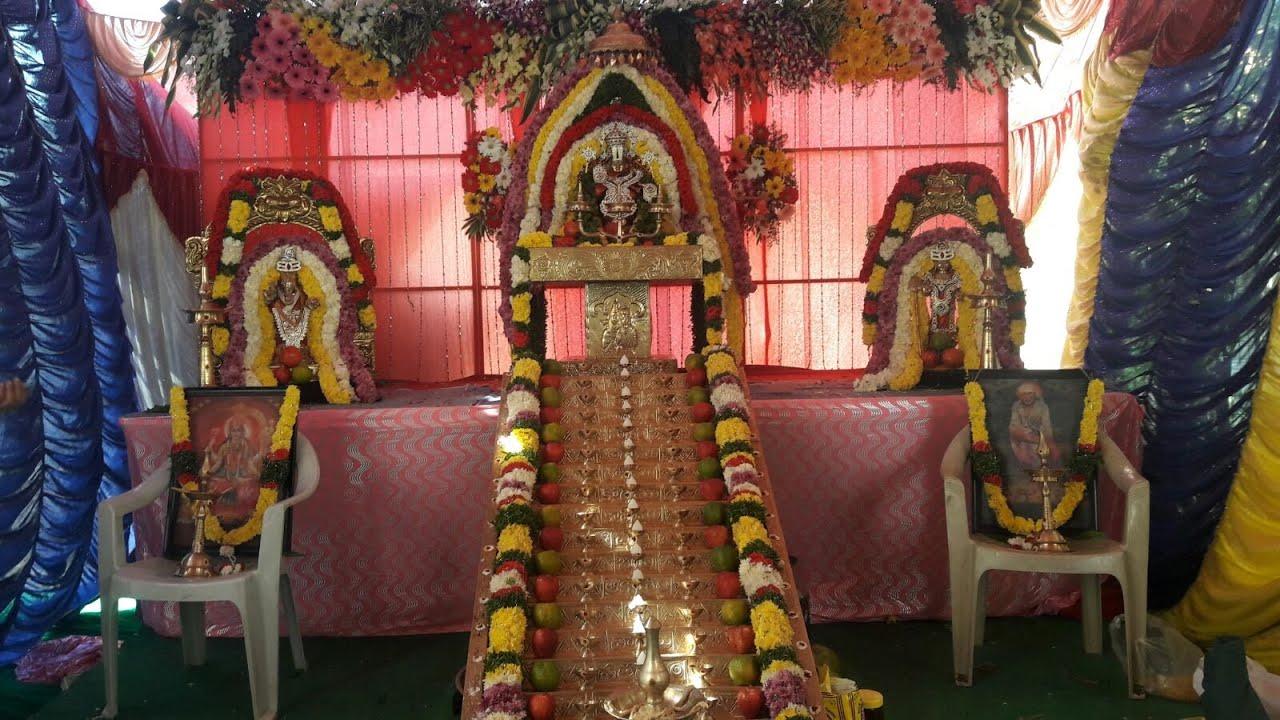 Ayyappa Pooja Hyderabad Narsingi Narsing Rao Jedala