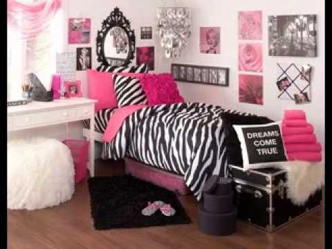 Charmant Pink Zebra Bedroom Design Ideas