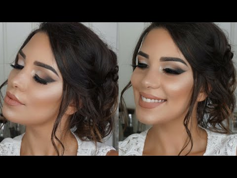 Easy Bridal Makeup Tutorial 2018