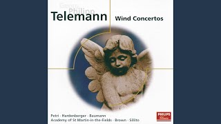 Telemann: Concerto for 3 Trumpets, 2 Oboes, Timpani, Strings and Continuo in D - 5. Vivace