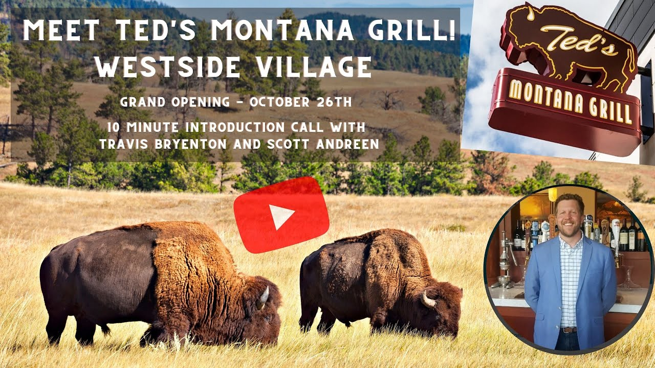 Welcome, Ted's Montana Grill - Upper Westside!