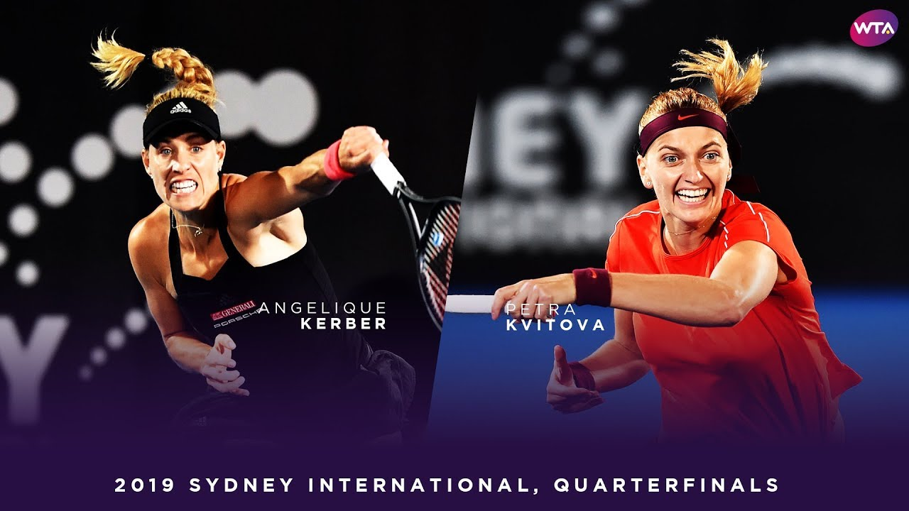 Angelique Kerber vs. Petra Kvitova | 2019 Sydney International Quarterfinals | WTA Highlights