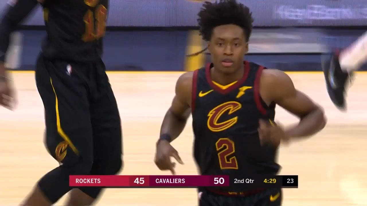 cd2cae0777f2 Collin Sexton Turns Into Kyrie Irving   DESTROYS James Harden Rockets!