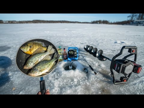 Ice Fishing CATCH and COOK So Delicious