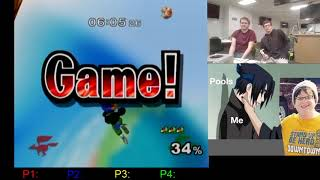 Super Smash Bros. Melee Daily: 2019-01-21 Zain converts off of a tipper up smash to get the kill