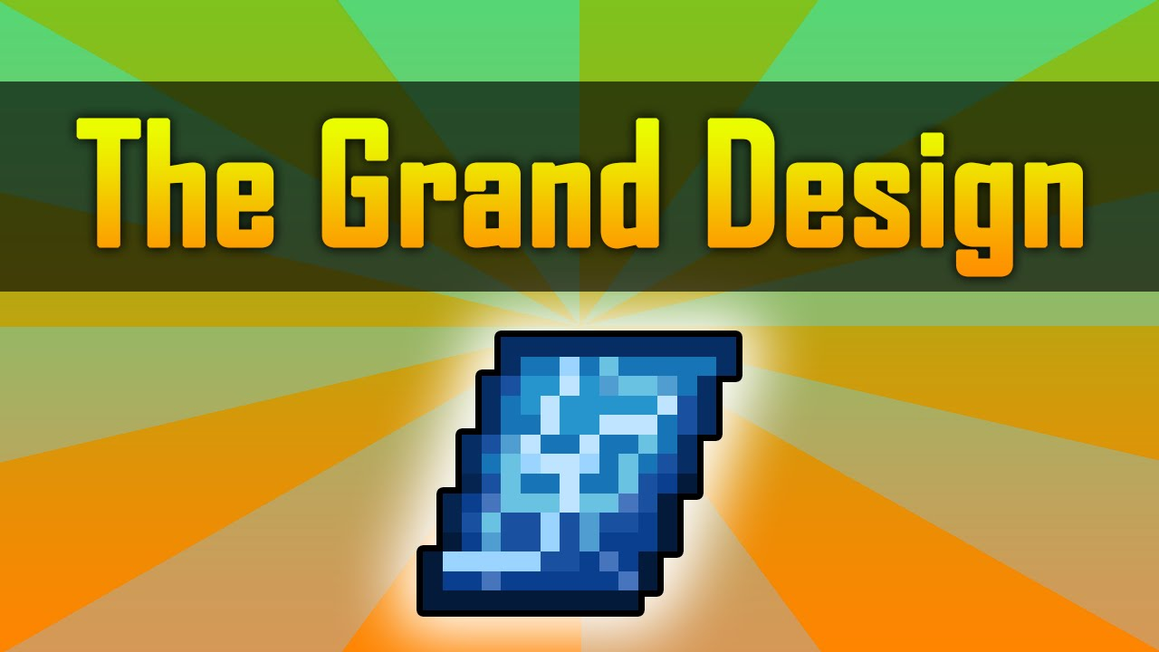 Terraria The Grand Design How To Craft Use Youtube