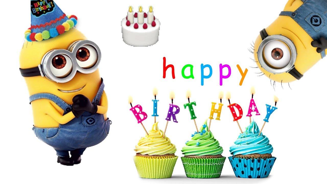 Funny Cute Minions Happy Birthday Song Funny Minions Memes Youtube