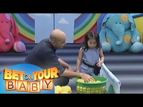 Bet On Your Baby: Baby Dome Challenge with Daddy Vince and Baby Emily