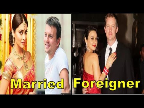5 Top Bollywood Actress who married to foreigners    You wont believe   Last marriage in  2018