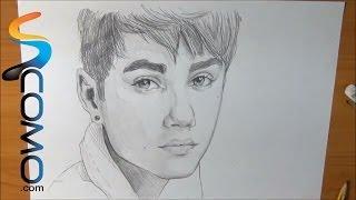 Cómo dibujar a Justin Bieber