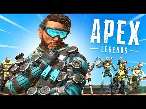 🔴 APEX LEGENDS Gameplay + Skin Giveaways! - New BATTLE ROYALE
