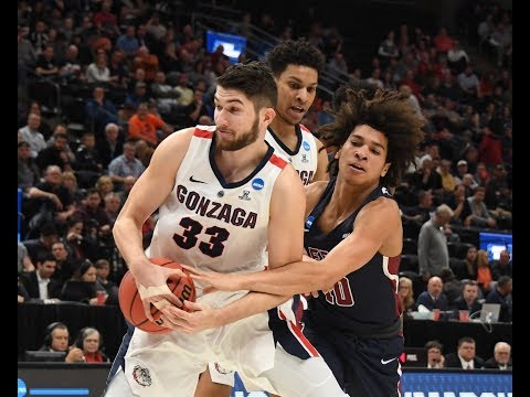 Gonzaga's Killian Tillie scores 17 points to help the Bulldogs advance in the NCAA Tournament