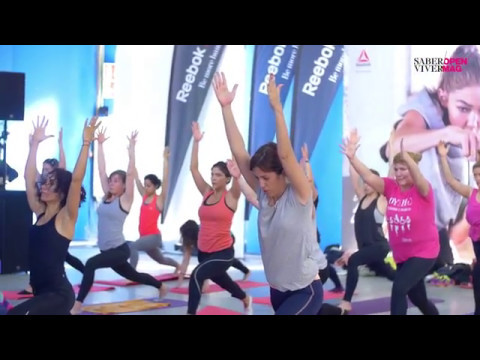 Aula de yoga com Jean-Pierre Oliveira no Open Mag | Saber Viver