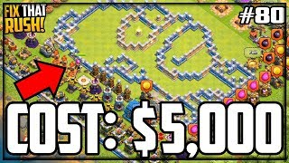 I Spent OVER $5,000 for this... Clash of Clans Fix That Rush Episode 80