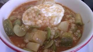 Kusksu Maltese soup my version|cook with me|Discover Malta|Mediterranean food|Richel B