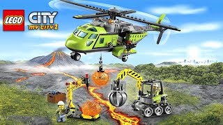 LEGO City My City 2 Mini Game Volcano Explorers Full Gameplay Walkthough