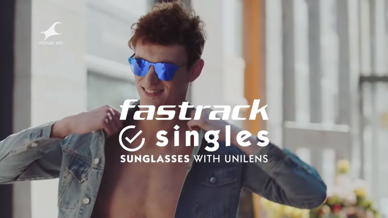 9e2f26e2306b Check out our hottest new Singles, Unilens sunglasses from Fastrack.
