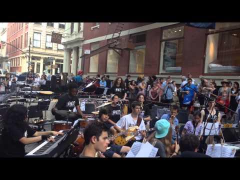 Make Music New York 2015. Face the Music/Kaufman Music Center... #facethemusic #makemusicnewyork