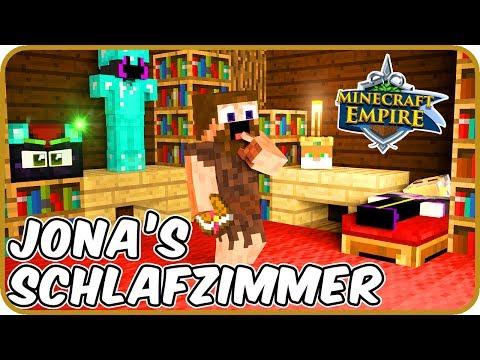 JONAS GEHEIMES SCHLAFZIMMER⁉️ - Minecraft EMPIRE 🍖 #86
