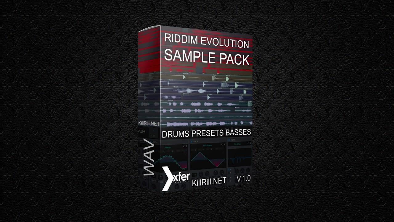 Riddim Evolution Sample Pack and Serum presets
