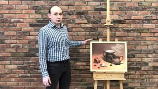 Рисунок пастелью на тонированной бумаге | Мастер-класс Алексея Волошина | Школа ВДОХНОВЕНИЕ | 6+