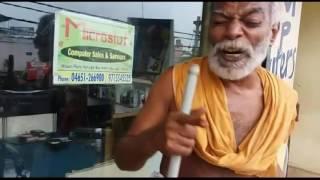 aluma doluma ajith arambam song singing by begger i verry funny i must watch