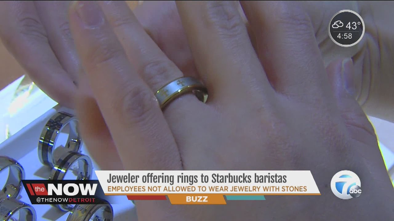 local jewelry offers free wedding bans to starbucks employers after dress code change youtube