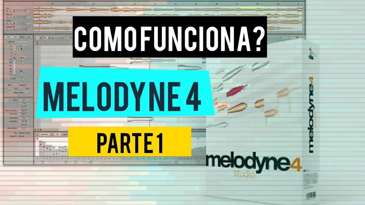 MELODYNE 4 TUTORIAL - como funciona, visão geral e transferência de áudio