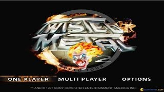 Twisted Metal 2 gameplay (PC Game, 1996)
