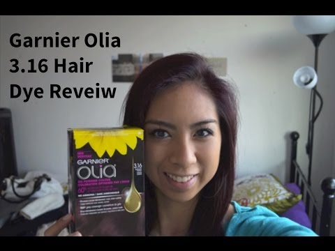 Garnier Olia 3 16 Darkest Violet Hair Dye Review