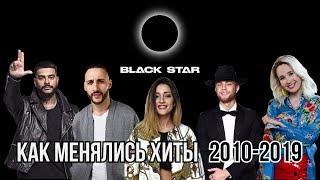 КАК МЕНЯЛИСЬ ХИТЫ BLACK STAR | 2010-2019