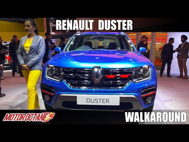 Renault Duster -  Super Powerful | Auto Expo 2020 | Hindi | Motoroctane